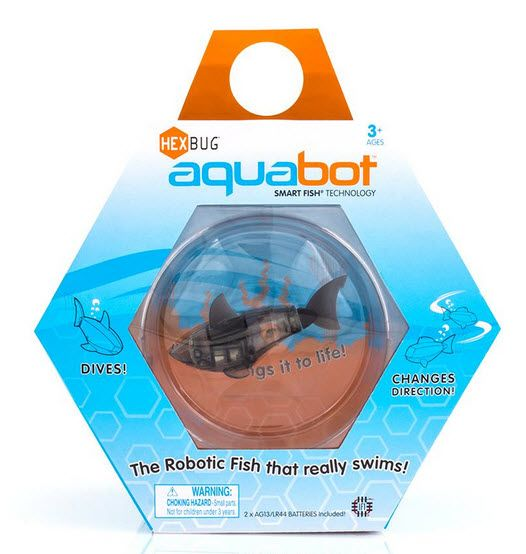 ta-da! - Stuyvesant Plaza - The Hexbug Aquabot, the robotic fish that really swims, now comes with its own fishbowl! Find this item at Ta-da! #StuyvesantPlaza #Albany #Gift #Children #fish #toy