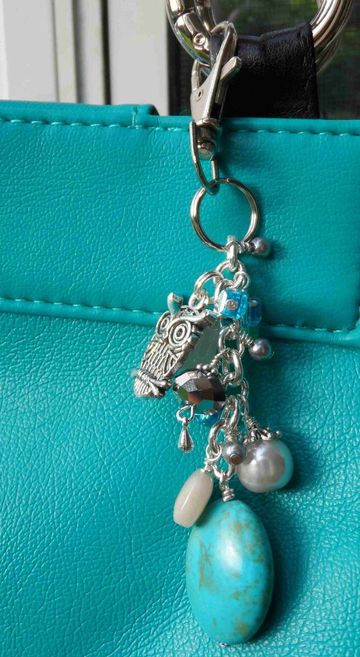 dangles as a purse tag