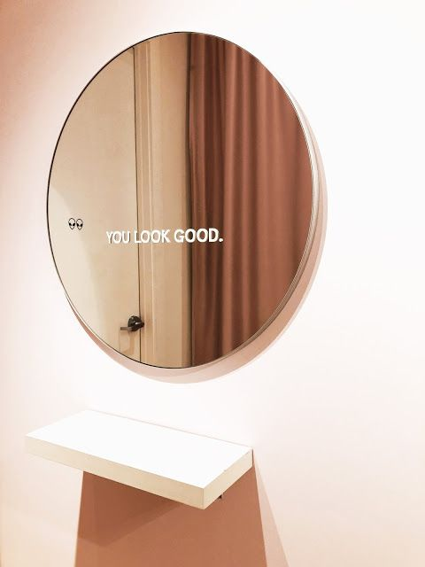Glossier Showroom Visit Review With Images Cool Mirrors Glossier Pop Up