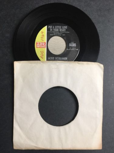 Jackie Deshannon - Put A Little Love In Your Heart/Always Together SINGLE VINYL