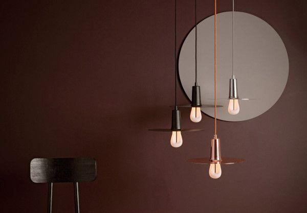 The modular Drop Hat Lamp Shade by Plumen