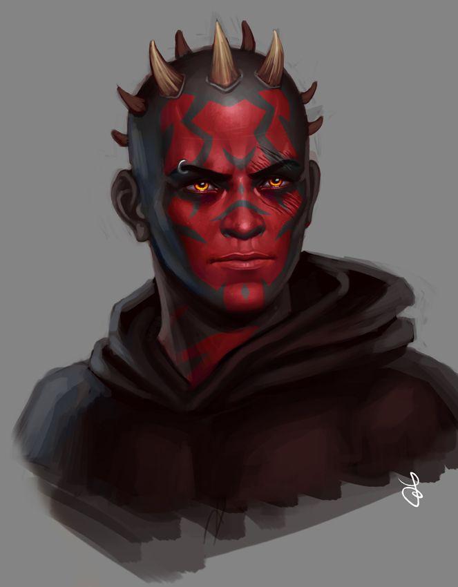 Sith portrait by SaraForlenza on deviantART