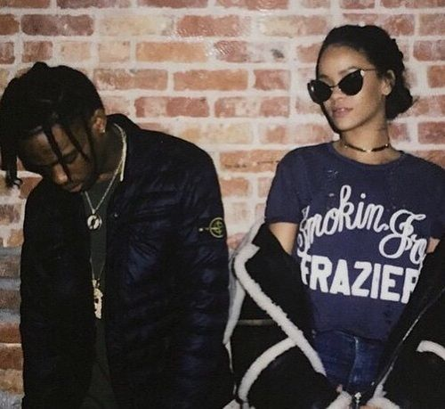 rihanna and travis scott