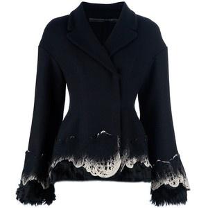 Ermanno Scervino Fur Trim Jacket - LoLoBu