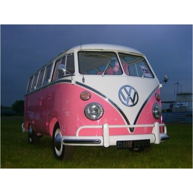 Seriously, I can't help but really dig the Pink Bus!