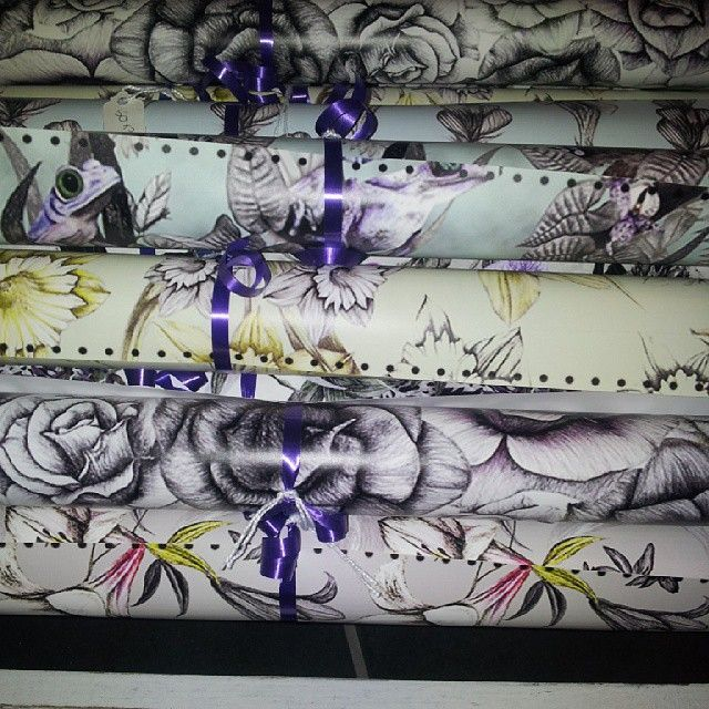 NEW gift wrap by Hayley Louise Crann in stock! Also with matching greetings cards and other items  www.craftypraxis.co.uk