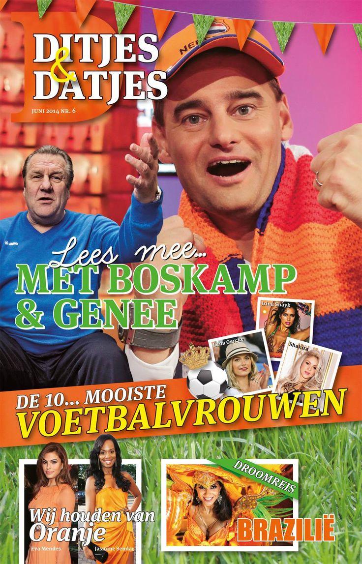 Cover Ditjes & Datjes 6, 2014 met Jan Boskamp en Wilfred Genee. #DitjesDatjes
