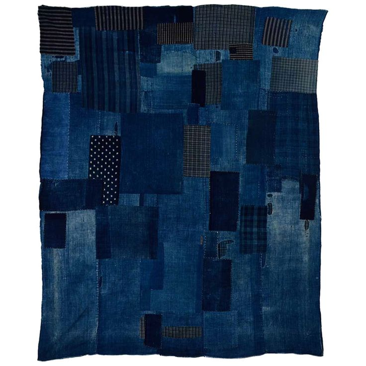 Japanese Boro | From a unique collection of antique and modern textiles at http://www.1stdibs.com/furniture/asian-art-furniture/textiles/