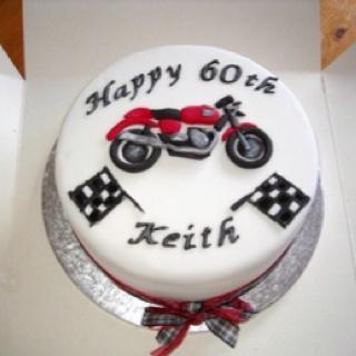 Triumph Motorbike Birthday Cake Brads Bday Pinterest