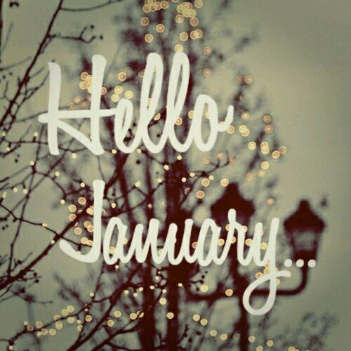 Hello january | We Heart It