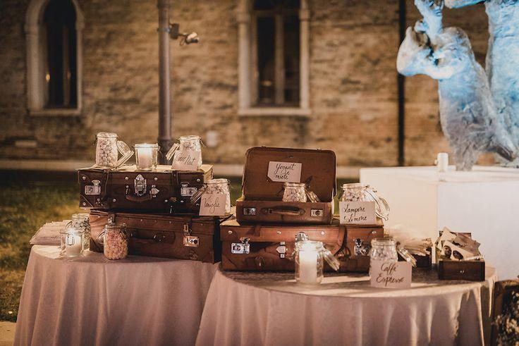 Un matrimonio ispirato ai viaggi a Venezia