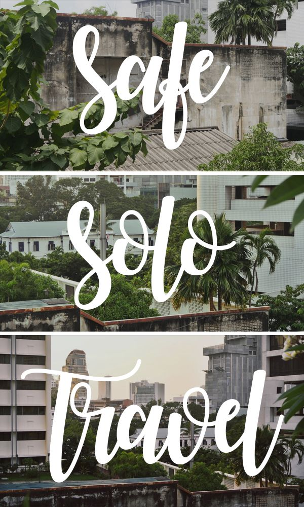 Solo travel is an unforgettable experience,  make the most of it and stay safe on the go with these handy tips! - luggage.co.nz