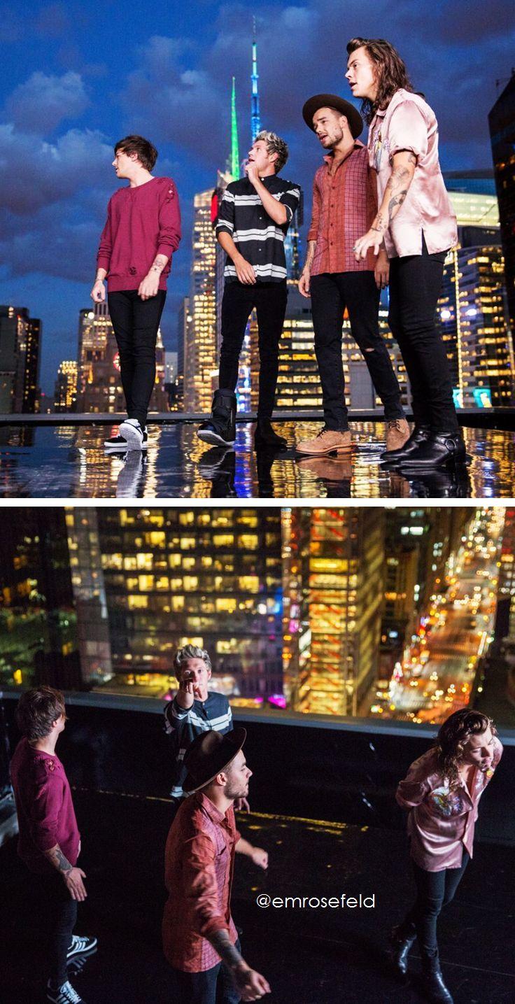 One Direction   Perfect BTS   @emrosefeld  