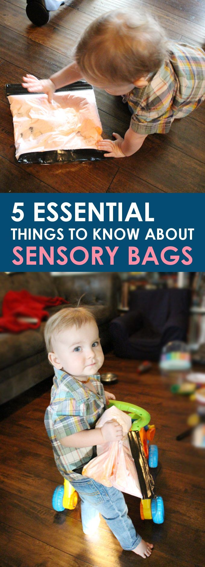 If you have little kids then you've surely heard of sensory bags. Here are 5 things you should know about sensory bags when making your own!