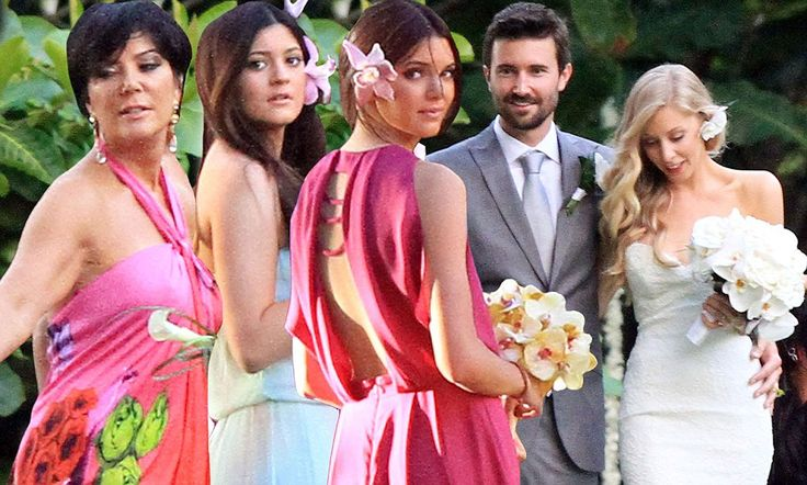 Kendall and Kylie Jenner are wedding belles at brother's Hawaii ceremony... but just why did the Kardashian girls skip the big day?