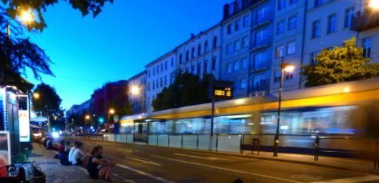 Abend auf der KarLi, Leipzig