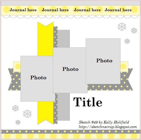 Bien connu 47 best Scrapbook Layouts 1-3 pics images on Pinterest | Scrapbook  KK67
