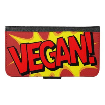 POP ART VEGAN WALLET PHONE CASE FOR SAMSUNG GALAXY S6 - vegan personalize diy customize unique
