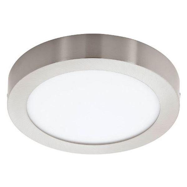 Imaginea Plafoniera LED Eglo Fueva1 16.47W nichel 3000k, 94525 http://www.etbm.ro/plafoniera-led-eglo-fueva1-16.47w-nichel-3000k-94525