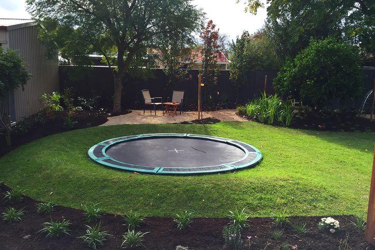 25+ Best Ideas about Sunken Trampoline on Pinterest | Garden trampoline, Trampoline house and ...