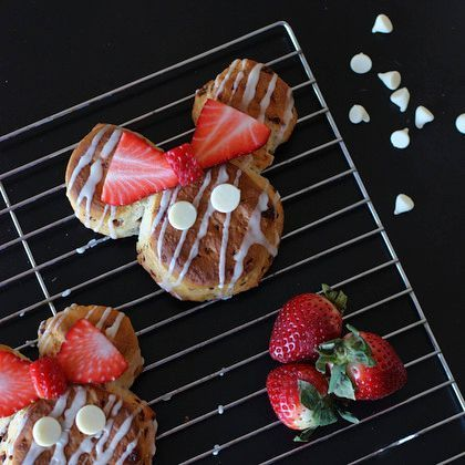 Our favorite Disney recipes for National Strawberry Day!