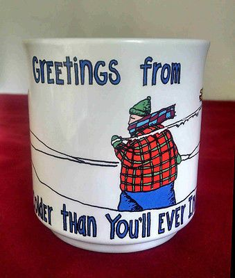 Greetings From Colder Than You'll Ever Imagine Kevin Pope Collector's Mug