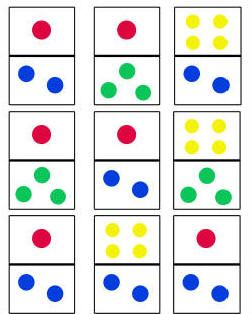 Dominoes Game for Toddlers — Toddler Activities, Games, Crafts