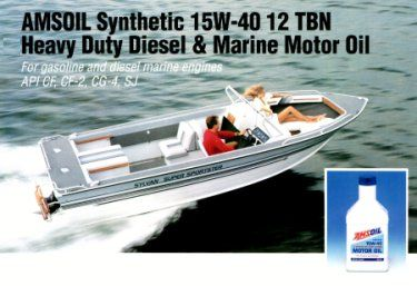 AMSOIL Marine Gear Oil - * See this AMSOIL product at http://shop.syntheticoilandfilter.com/gear-lube/universal-synthetic-marine-gear-lube/
