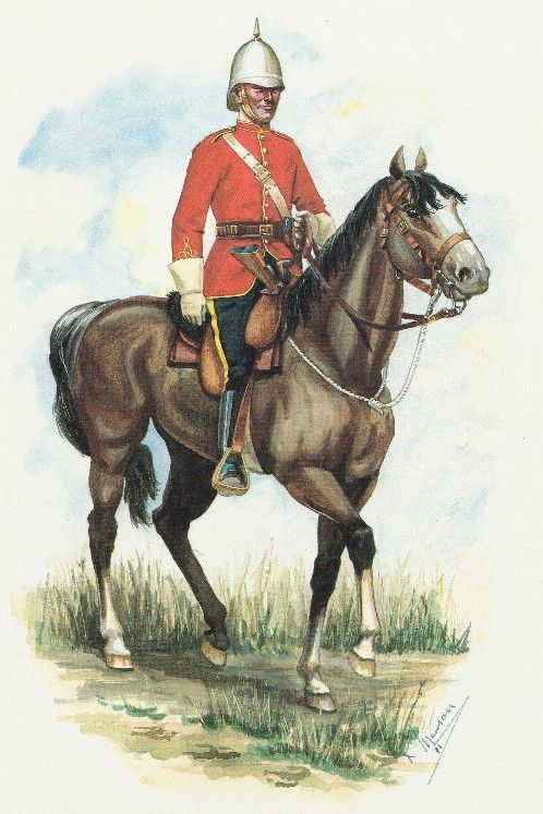 North West Mounted Police - History and Uniform 1876