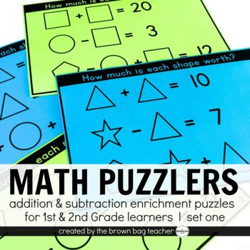 How many squares (Geometric Puzzlers for 1st and 2nd graders) (Volume 1)