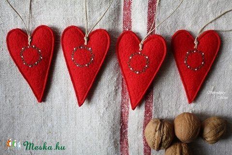 Karácsonyi szív szett (serendipity22) - Meska.hu