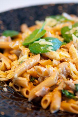 Gourmetmorsan: Höstig onsdagspasta med tryffel, kyckling och svam...