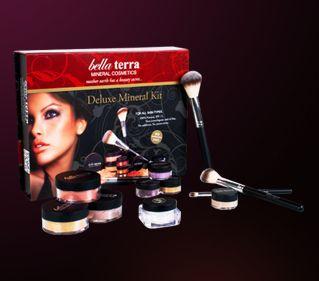 Win a Bella Terra Mineral Cosmetics Deluxe Mineral Kit!