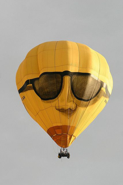 Hot-air Balloon Sunglasses by spixpix