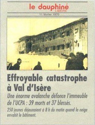 Le Dauphiné Libéré, 11 février 1970