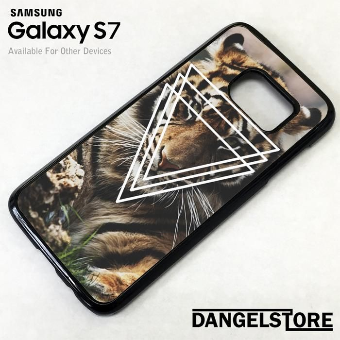 Tiger Triangles For Samsung S7 Case