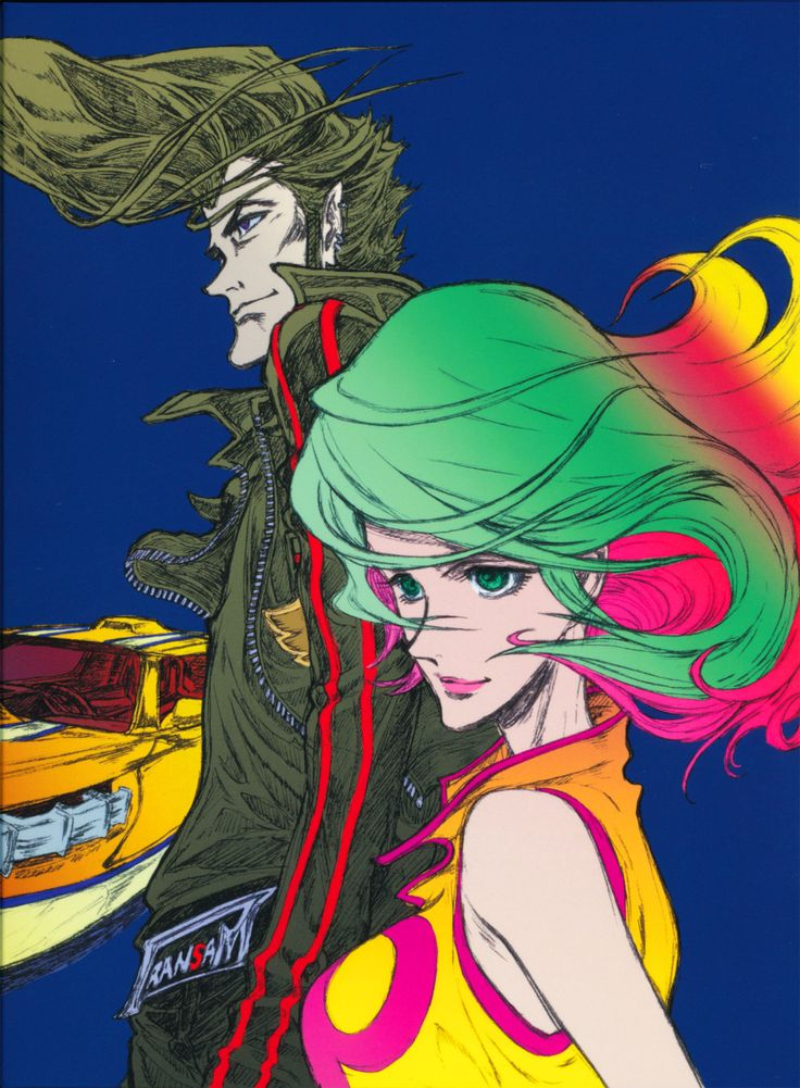 Distilled cover art, Redline, collector's edtion blu-ray (japan)