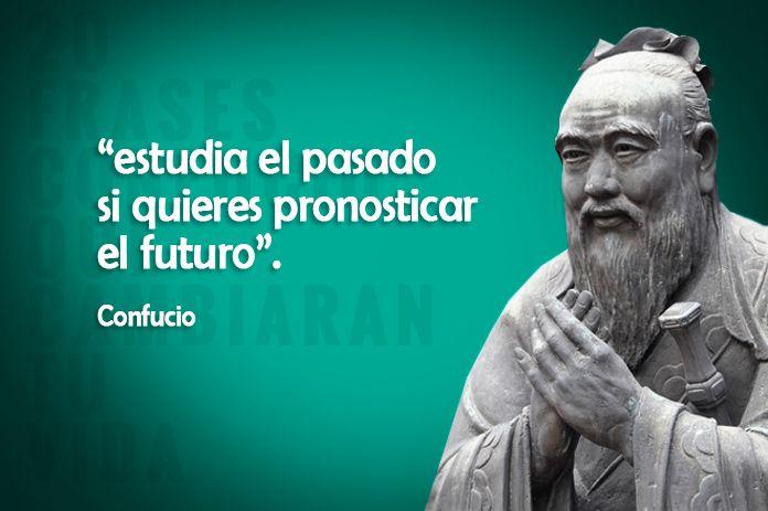 20 frases y enseñanzas de Confucio imprescindibles para la vida