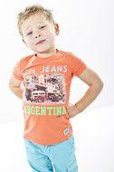 Milan-Peach jongens kleding Quapi Kidswear zomer collectie 2014 www.lotenlynn.nl