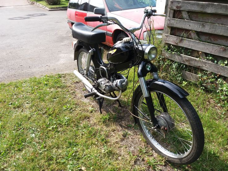 Puch MS 50 2 gear. 1969.