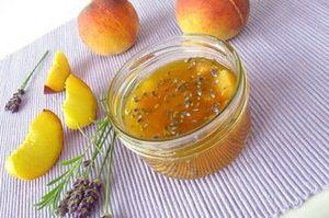 Персиковое варенье с лавандой - Рецепты кулинарии