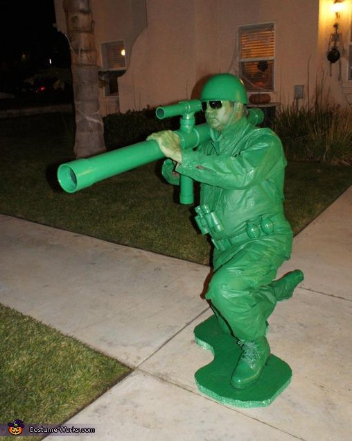 Toy Story Soldiers – Homemade costumes for boys
