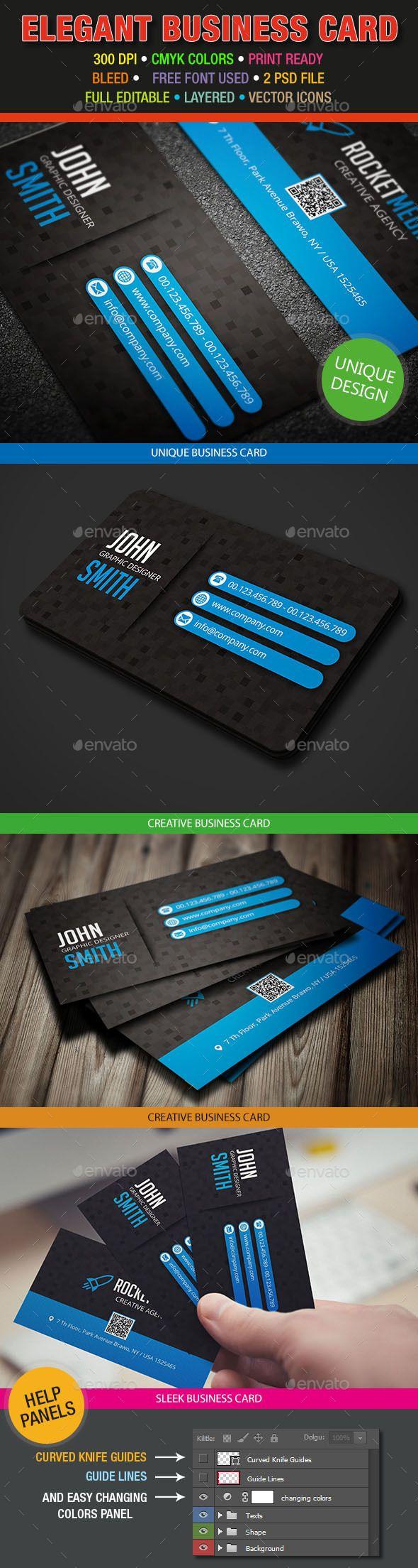 Elegant Business Card 386