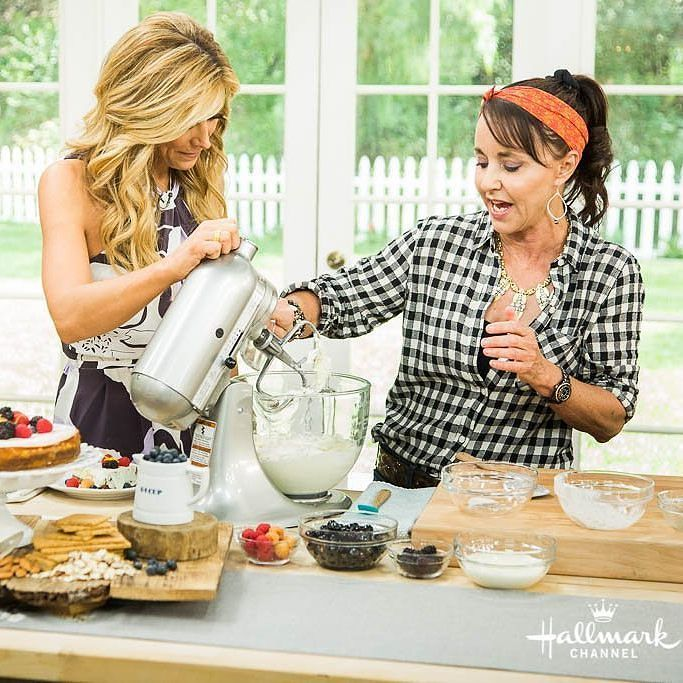 Cooking today on the Hallmark Channel's Home and Family TV show was beyond my wildest dreams! Watch tomorrow. It airs at 10am EST.  #besthomecook #homeandfamilyhomecook  Allyskitchen.com