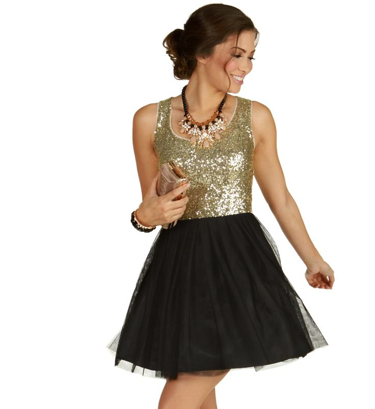 Goldie-Black Prom Dress at WindsorStore