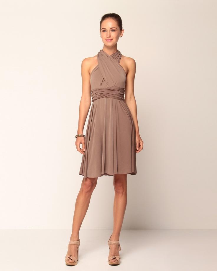 Von Vonni Transformer Dress Gray