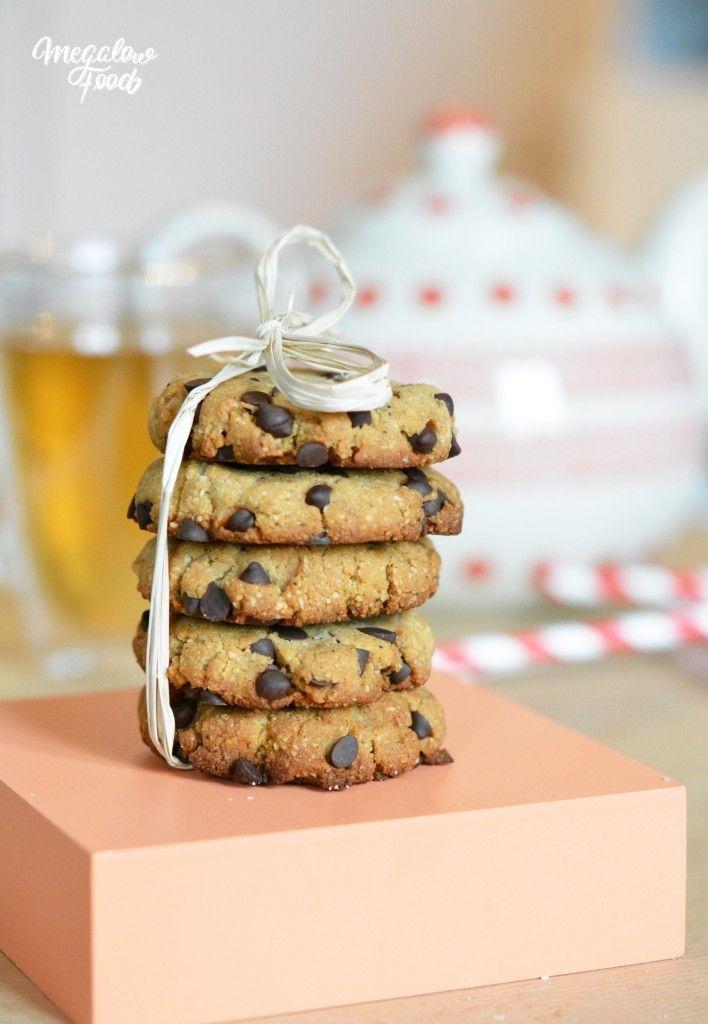 Cookies moelleux vanille & chocolat – ultra-sains, IG bas et sans oeufs ! Vegan & healthy cookies
