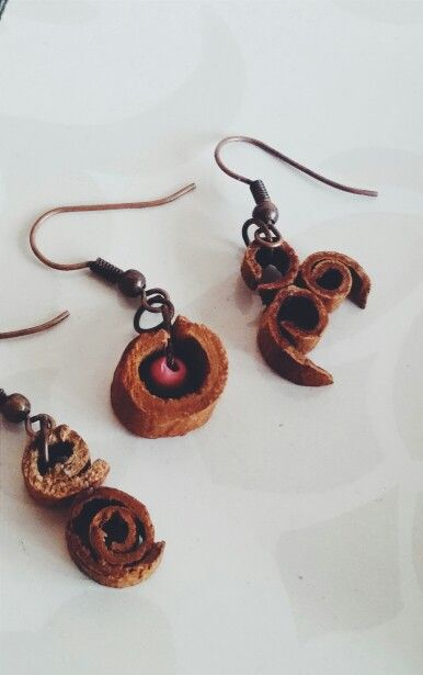 Cinnamon / Earrings