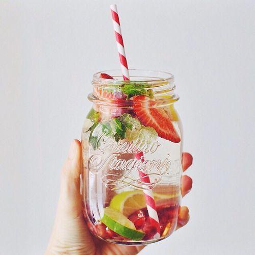 eau infusee, boisson detox, diy infused water
