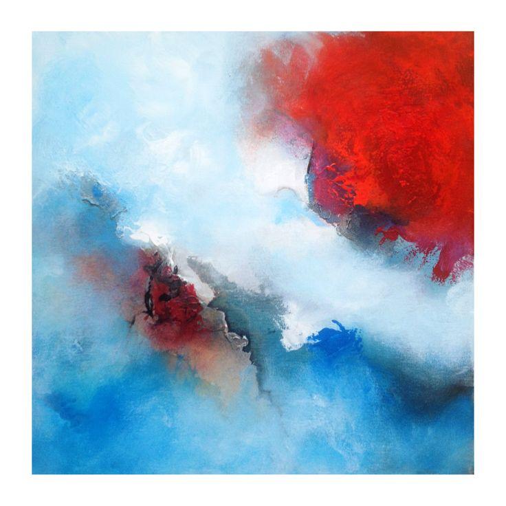 22 besten abstrakte kunst und moderne malerei bilder auf pinterest acrylmalerei acrylmalerei - Abstrakte bilder leinwand ...